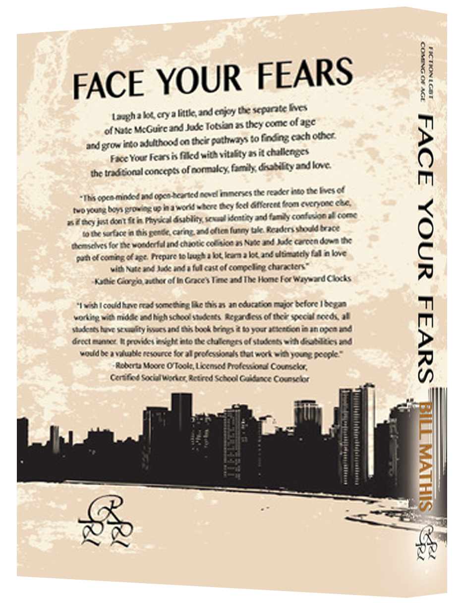 Face Your Fears Spine Bill Mathis